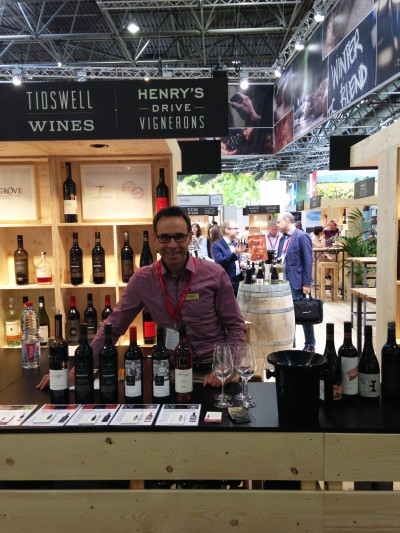 Tidswell Wines at ProWein in Dusseldorf, Germany